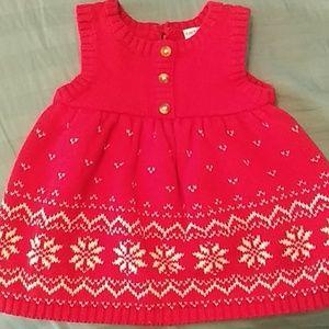 Carter's knit dress 3m